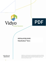 I2 VidyoDesktop Demo Guide 1108