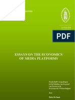Essays on the Economics of Media Platforms