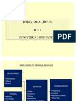 Individual Role
