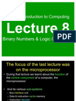 Binary Numbers Logic Operations