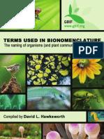 GBIF Nomenclature Book
