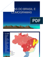 Climas Do Brasil e Climogramas