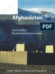 Afghanistan Post-Conflict Environmental Assessment January 2003