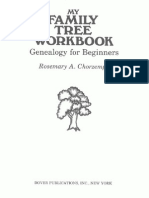 Dover My Family Tree Workbook - Genealogy for Beginners