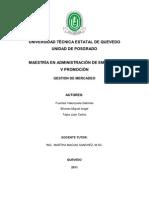 GESTION DE MERCADEO