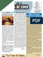 """2011-07-24 """"El Conquistador"""" Boletín semanal de """"La Casa de Todos"""""""