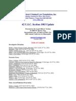 42 U.S. Code §1983 – 2002 Updates
