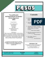 REVISTA PASOS 93 ARTICULOS TEMA JÓVENES