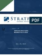 Strat for Cartel Report 2010