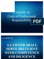 CANON 18Code of Professional Responsibility