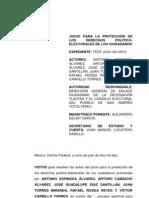 Ilegal Juico Tedf-jldc-041-2010 Solapando a Toribio Guzman Aguirre.