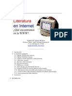 Literatura en Internet