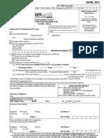 Gate Form 12