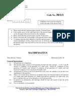 2009 Mathematics