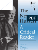 Welton, D, Ed - The New Husserl ~ a Critical Reader