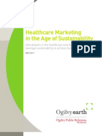 OgilvyEarth Sustainability in Healthcare Whitepaper 2011