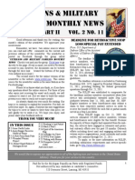 Veterans & Military Families Monthly News-July 2011 Part II