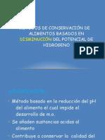 conservacion acidificacion fermentacion