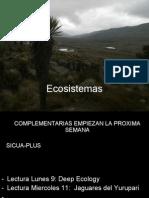 2.1 Ecosistemas-Condiciones