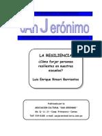 La Resiliencia Luis Rimari Barrientos