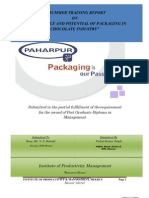 Significance & Potential of Packaging in Chocolate Industry