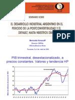 Economía - Desarrollo Industrial Argentino en Posconvertibilidad - Kosacoff - 2005 - doc