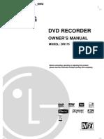 LG-DR175 Service Manual