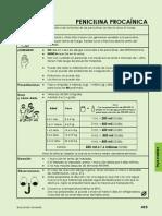Dodis de La Penicilina Procainica
