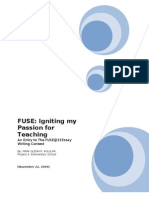 Fuse Igniting My Passion for Teaching