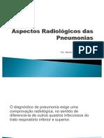 Aspectos Radiológicos das Pneumonias Aula Senac