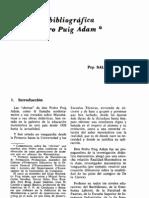 Semblanza Bibliografica Puig Adam