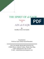 AIN Al-FAQR -- Hazrat Sultan Bahu (RA)