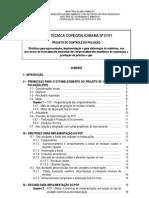 Nota Tecnica CGPEG-DILIC-IBAMA 01-11 - Projeto de Controle Da Poluicao - PCP
