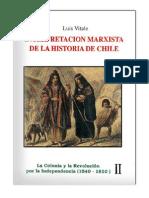 Luis Vitale - Interpretación Marxista De La Historia De Chile ( Tomo II)