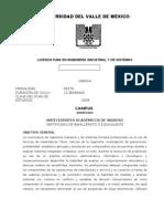 Plan de Estudios Ingenieria Industrial y de Sistemas Lx