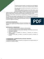 TRABAJO DE ORGANIZACION