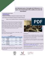 Diretrizes Curriculares Nacionais para a formação de professores e Tecnologias da Informação e da Comunicação