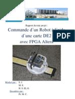 rOBOT SUIVEUR DE LIGNE à FPGA Altera