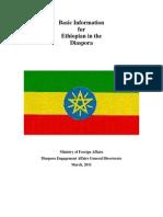 All Basic Information for Ethiopian Diaspora