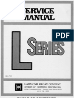 Hammond l 100 Series Service Manual