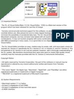 VL Visual Editor-Manual
