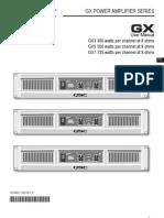 GX Series User Manual RevD