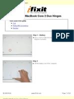 Macbook Hinge Repair