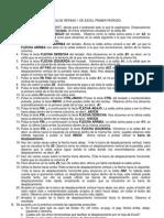 PRÁCTICA DE REPASO DE EXCEL PRIMER PERÍODO