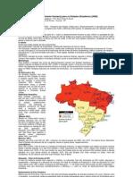 IDH - Índice de Desenvolvimento Humano dos Estados Brasileiros