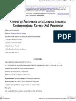 Guía Del Corpus Oral