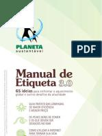 Manual Etiqueta Sustentavel 30 2011