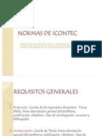 NORMAS de ICONTEC Juan Gabriel Garzon Guerrero
