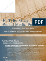 Tyler Gray Social Media Portfolio