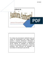 A importância da Auditoria Ambiental